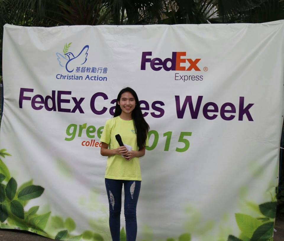 MC Tiffany Lai 黎芷瑋之司儀主持紀錄: FedEx Cares Week MC