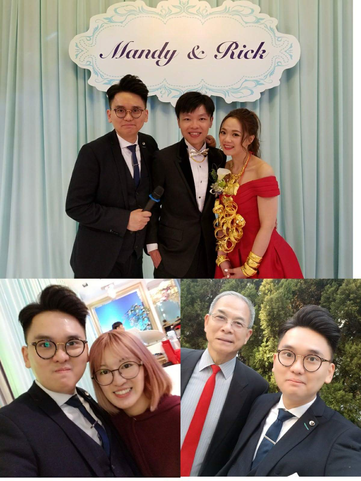 司儀婚禮司儀 Mc Leo ho工作紀錄: 「婚禮司儀」、「婚宴司儀」Wedding MC Outjob (MC Leo) (10, Apr 2018 @K11 ClubONE Sky Garden )