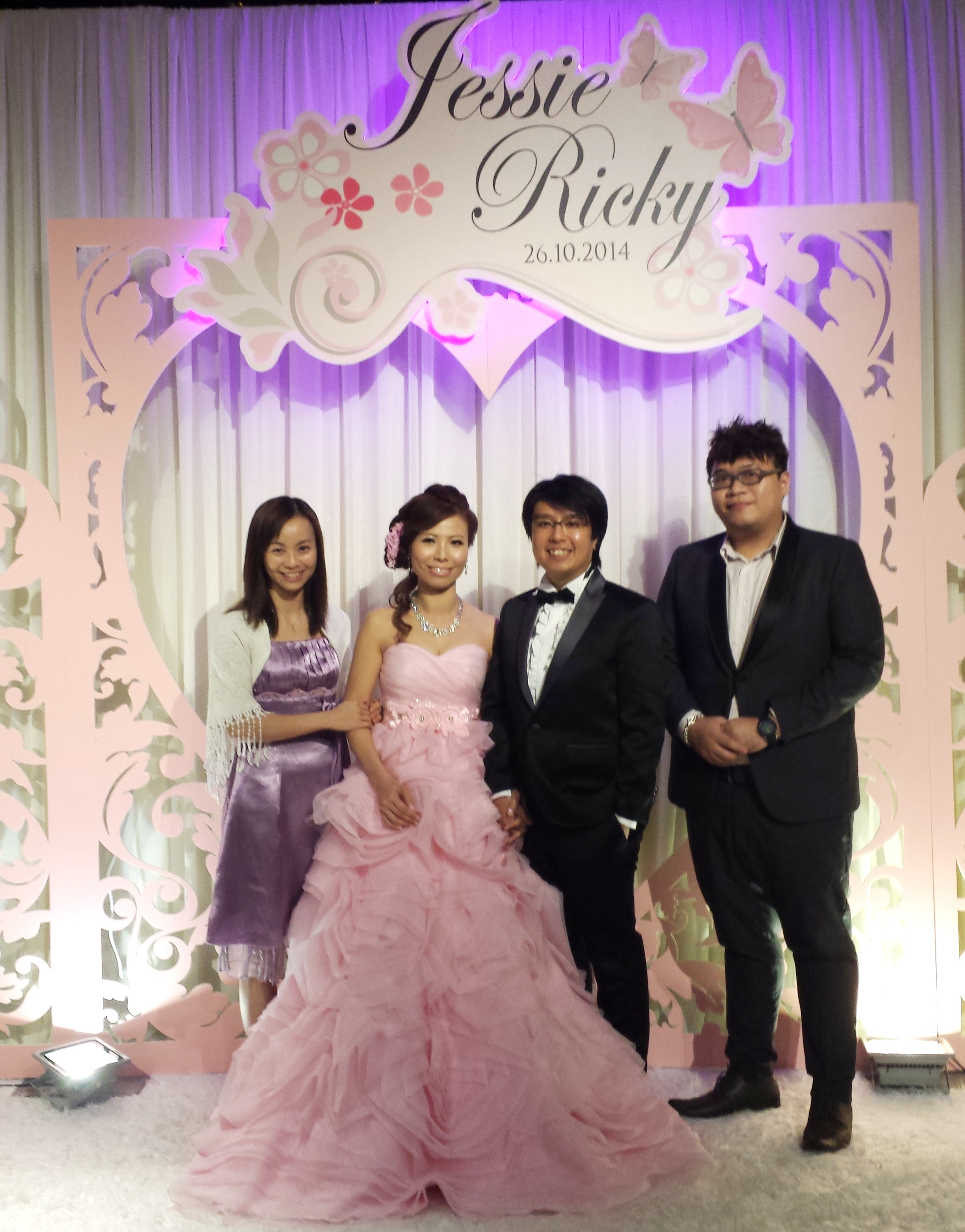 Ricky leung wedding