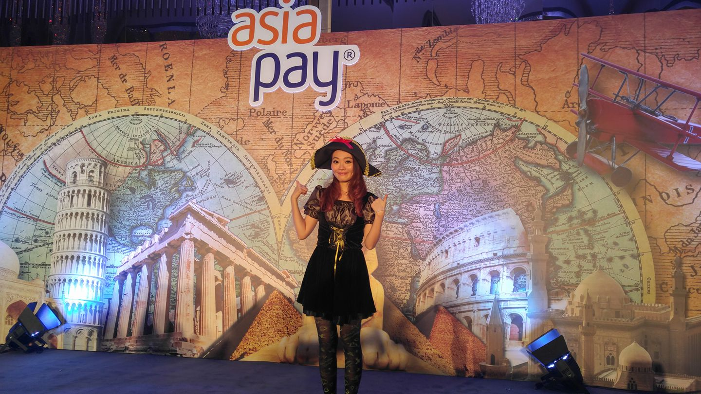 Pinky Lo 司儀最新紀錄 - Asia Pay Limited Annual Dinner 2017 (Bilingual MC)(Jan 2017,活動主持)