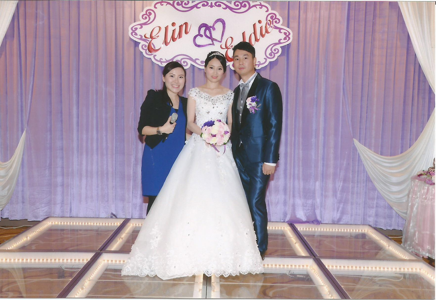 MC Yan TAM司儀工作紀錄: Wedding MC 婚宴司儀 - Elin & Eddie Wedding